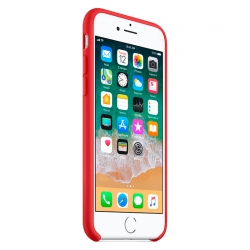 Чохол-накладка Silicone case iPhone 7  Red