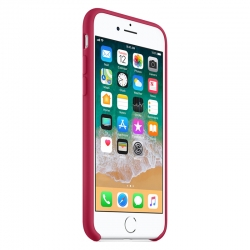 Чехол-накладка Silicone case iPhone 8 Red