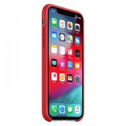 Чехол-накладка Silicone case iPhone XS Red