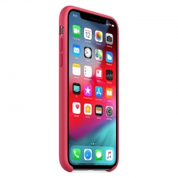 Чохол-накладка Silicone case iPhone XS Red