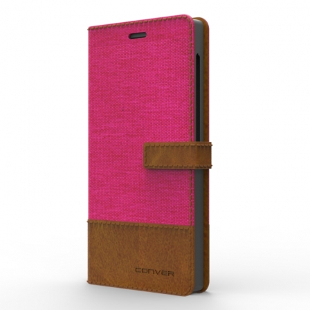 "Чехол универсальный Covered Jeans 5,3"" Pink"