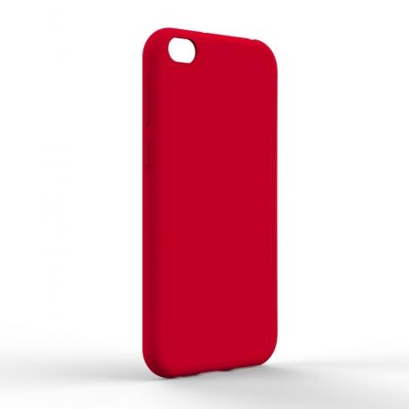 Чехол-накладка Xiaomi Redmi Go Monochromatic Red